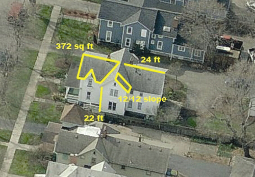Aerial Roof Measurements