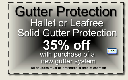 Gutter Protection Discounts