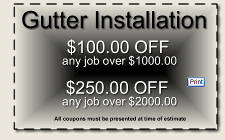 Gutter Protection Discount
